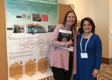 Health Mentors Outcomes Presented at an International Conference in Vancouver